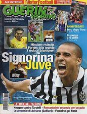 rivista GUERIN SPORTIVO ANNO 2007 NUMERO 27 JUVENTUS BUFFON, TREZEGUET
