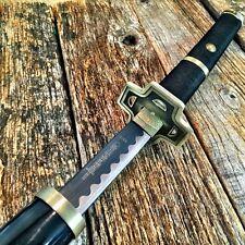 "41"" BLACK GOLD SAMURAI NINJA Bushido KATANA Japanese Sword Carbon Steel Blade"