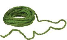 Moss Wired Rope/Vine, Rustic Green Rope Trim, Craft Supply, Wedding Supply, DIY