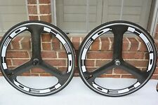 Specialized/HED 3 Trispoke Wheel Set 700c Tubular