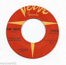 PEARL BAILEY * 45 * Stayed Last Night * 1960s* VG+/VG++ * USA ORIGINAL VERVE