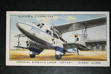 Imperial Airways  De Havilland DH86A Airliner # Original 1930's Vintage Card