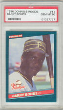 Barry Bonds Pirates 1986 Donruss Rookies #11 Rookie Card rC PSA 10 Gem Mint QTY
