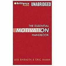 The Essential Motivation Handbook by Leo Babauta and Eric Hamm (2011, CD,...