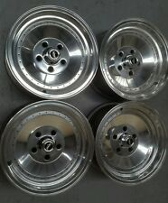 Globe Centerline Holden HK HT HG Monaro Torana LH LX 14 x 7 polish newnuts/caps