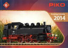 Piko G scale-catalogue, G – Catalogue, G – catalog 2014 avec prix – w. prices!