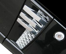 Black+chrome Autobiography style side vent air grilles - Range Rover L322 design