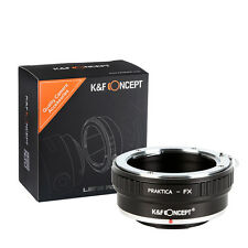 Praktica PB lens Camera Adapter Ring To Fujifilm X-Pro1 FX X-E1 X-M1 T1 A2 E2