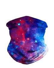 iHeartRaves Galaxy Seamless Rave Mask All Over Print Bandanas Galaxy