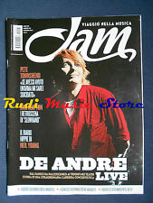 Rivista JAM 197/2012 Fabrizio De Andre' Pete Townshend Neil Young Beatles No cd