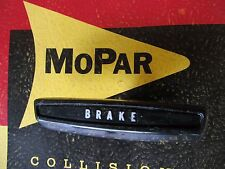 Mopar dodge Plymouth 1968-1974 A-Body Emergency Brake Handle Duster Dart cuda
