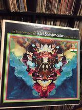 Ravi Shankar Sitar Vinyl Record Album Psyche