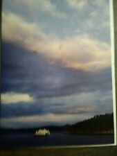WASHINGTON STATE FERRIES GREETING CARD THE EVERGREEN STATE SAN JUAN ISLANDS WASH