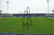 A 6 x 4 inch photo personally signed by Eoghan O'Connell of Oldham Athletic. (3)