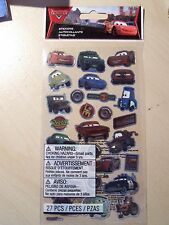 NEW- EK SUCCESS-DISNEY-SCRAPBOOK / CARDMAKING STICKERS- CARS