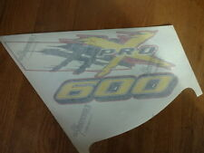 Pro X 600 Hood Decal Sticker