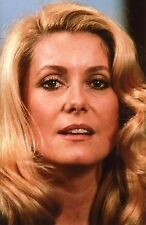 CATHERINE DENEUVE ANNEES 1980 PHOTO ARGENTIQUE N°3 COLLECTION CINEMAGENCE