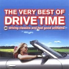 THE VERY BEST OF DRIVE TIME - VARIOUS - 2 X CD SET - COLDPLAY / OASIS / PRINCE +