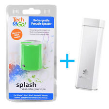 Mini Portable speaker and power bank combo gift set for iphone Samsung HTC LG