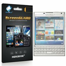 3 Membrane GENUINE Screen Protectors Protect Blackberry Passport (Windermere)