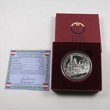 Österreich 20 Euro 2003 Silber PP Biedermeierzeit - OS (lesen)