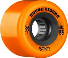 Bones 56mm 80a ATF Rough Riders Orange Skateboard Wheels