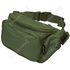 Nuevo verde oliva en la cintura Pack Tamaño Regular - 3 Bolsillo Canguro Bum día Correa Bolso