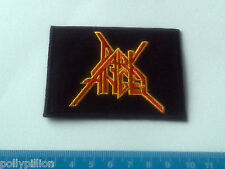PUNK ROCK HEAVY METAL MUSIC SEW ON / IRON ON PATCH:- DARK ANGEL (a) THRASH METAL