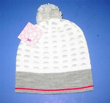 TOO CUTE!   Authentic Licensed Vera Wang POM Fashion Beanie Hat    HEY GIRL HEY!