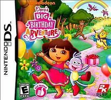 NINTENDO DS DORA'S BIG BIRTHDAY ADVENTURE BRAND NEW