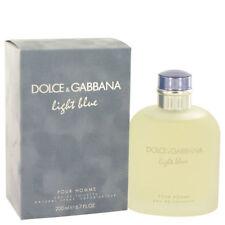 Dolce & Gabbana Mens Light Blue ~Eau de Toilette - 200 ml / 6.7 Fl Oz NEW SEALED