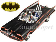 HOT WHEELS DJJ39 1966 BATMOBILE with BATMAN & ROBIN FIGURES 1/18 GEORGE BARRIS