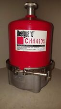 Cummins Fleetguard Lube Centrifugal By-Pass Filter w/ Clamp, CH44105