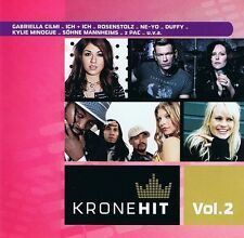 KroneHit Vol.2 - 2 CDs Neu Lady Gaga Duffy Gabriella Climi Söhne Mannheims