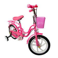 "Children Bicycle for girls Pink 30,4cm 12"" Accessories Rim brakes"