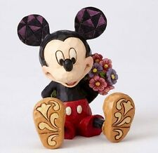 Jim Shore Disney Traditions Mini Mickey Mouse Holding Flowers Figurine 4054284