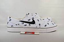 NEW Nike Zoom Stefan Janoski Canvas PRM GEOFF MCFETRIDGE WHITE 705190-101 sz 8.5