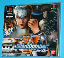 Silent Bomber - SilentBomber - Sony Playstation - PS1 PSX - JAP Japan