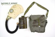 Soviet Rubber Gas Mask With Bag And Filter Genuine Russian Army Military Surplus