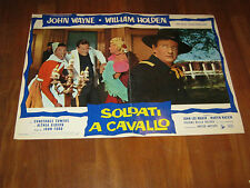 Fotobusta,JOHN WAYNE,FORD,Soldati a cavallo The Horse Soldiers William Holden