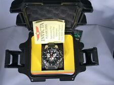 Invicta Speedway Men Chronograph Black Silicone Stainless Steel  Watch 22235 87B