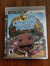 Little Big Planet 1 and 2 for PS3 - Adult Owned