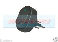 12V VOLT GREEN LED ILLUMINATED MINI OVAL ROCKER SWITCH ON/OFF CAR VAN DASHBOARD