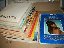 1969 playboys 12 monthly issues complete year with centerfolds covers calendar