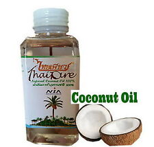 Natural Coconut Oil Thai Pure For Health Skin Hair Massage Skin Cooking 60ml