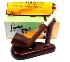 GBD Estate Pipe Virgin 1451 Smooth Dark Canadian (USED)