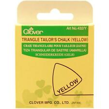 Clover Triangle Tailor's Chalk YELLOW #432 Y Sewing Quilting Notions