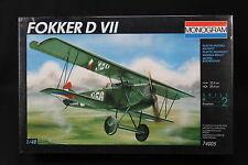 YF041 MONOGRAM 1/48 maquette avion 74005 Fokker D VII 37 Pièces Skill 2