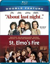 ST ELMO'S FIRE / ABOUT LAST NIGHT  -  Blu Ray - Sealed Region free