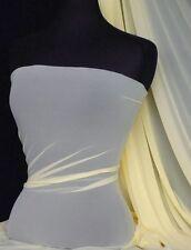 Pastel lemon power mesh 4 way stretch fabric 109LT PLMN
